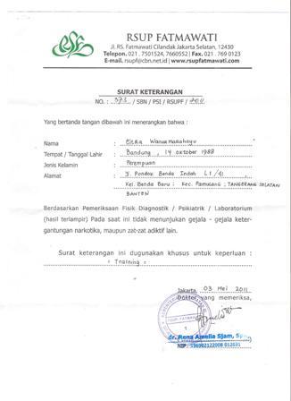 Contoh Surat Dokter Jakarta Utara Surat 28